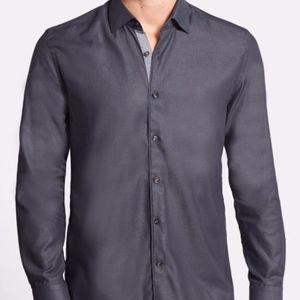Stone Rose Mens New W/Tag Slim Fit Shirt Size M